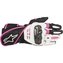 Alpinestars Womens Stella SP-1 Touch Screen Leather Gloves Black