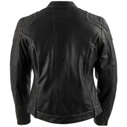Black Brand Womens Charmer Leather Jacket Black