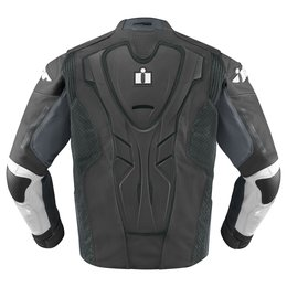 Grey Icon Mens Hypersport Prime Leather Jacket 2014