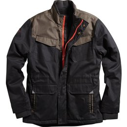 Fox Racing Mens Wheelbase Water-Repellent Sherpa Lined Jacket