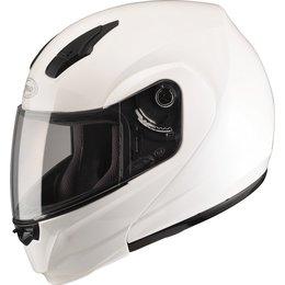 GMAX 04 -04 Modular Helmet White