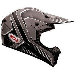 Bell Powersports SX-1 Race Helmet Black