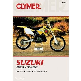 Clymer Repair Manual For Suzuki RM250 RM-250 96-02
