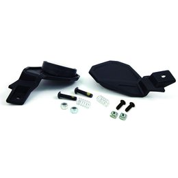 Powermadd Star Series Snowmobile Handguard Mirror Kit Pair 34289 Black