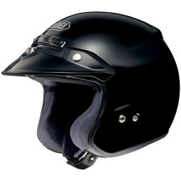 Shoei RJ-Platinum R Open Face Helmet Black