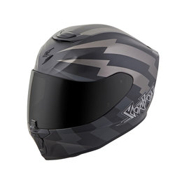Scorpion EXO-R420 EXOR 420 Tracker Full Face Helmet Grey