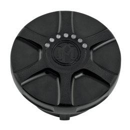 Performance Machine Array Fuel Gauge Gas Cap Harley Black Ops 0210-2025ARY-SM Black
