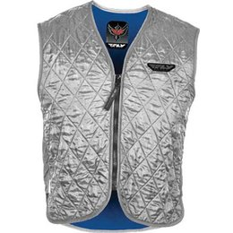 Fly Racing Mens Cooling Vest Silver