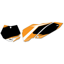 Black Factory Effex Graphic #plate Background Ktm Exc