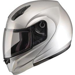 GMAX 04 -04 Modular Helmet Silver