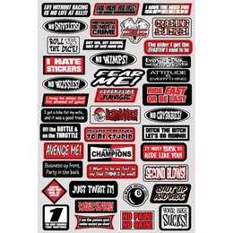 N/a Factory Effex Decal Fun Phrases Sticker Kit