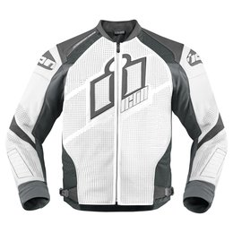 White Icon Mens Hypersport Prime Leather Jacket 2014