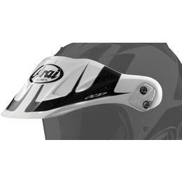 White Arai Replacement Visor For Xd4 Explore Dual Sport Helmet