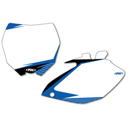 White Factory Effex Graphic #plate Background For Yamaha Yz250f