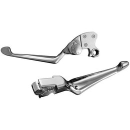 Kuryakyn Boss Blades With Adjustable Clutch Lever For H-D FLHR/T/X FLST/FXST FXD