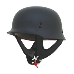 AFX FX88 Solid Half Helmet Black