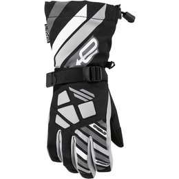 Arctiva Youth Boys Ravine Insulated Textile Snowmobile Gloves Black