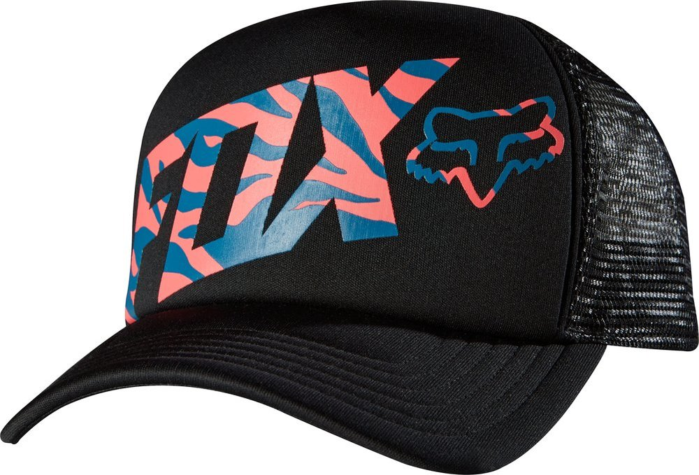 info for 953f7 d1f2d ... good fox racing womens magnificent snapback adjustable trucker hat  black f1baf eb77f