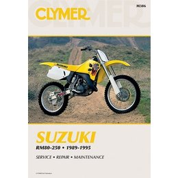 Clymer Repair Manual For Suzuki RM80-250 89-95