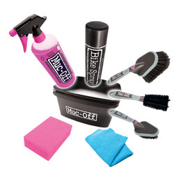Muc-Off 8-in-1 Wash And Brush Motorcycle Cleaning Kit LS Universal MOX-260 Unpainted