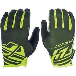Fly Racing Mens Media Gloves Black