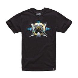 Alpinestars Mens Mandala Short Sleeve T-Shirt 2015 Black