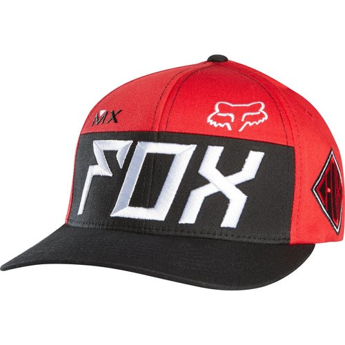big sale 61330 bc46e ... black idm2284 00c1a 6f1cb  canada 32.50 fox racing mens exhaust flexfit  hat large x large indigo bece9 a3e00