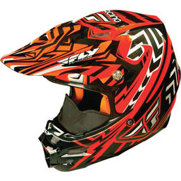 Fly Racing F2 Snow Helmet Orange
