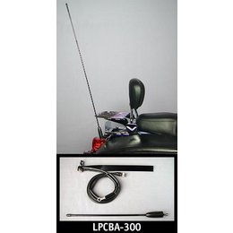 J&M LPCBA-300 License Plate Mount CB 36 IN Antenna Kit