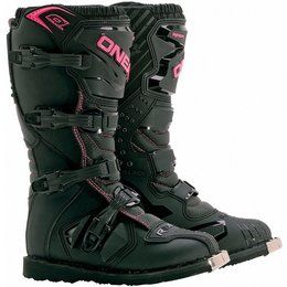 Oneal Womens Rider MX Boots Pink