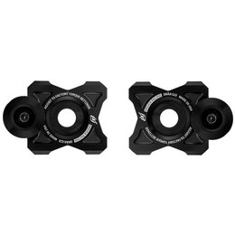 Driven Racing Axle Block Sliders 2016 Yamaha FZ07 Black DRAX-115-BK Black
