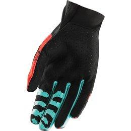 Thor Youth Boys Void Rampant MX Gloves Orange