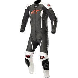 Alpinestars Mens Missile 2-Piece Tech-Air Compatible Leather Suit Black
