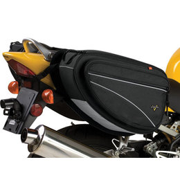 Black Nelson-rigg Cl-950 Deluxe Saddlebags