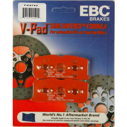 EBC V-Series Semi Sintered Front Brake Pads Single Set ONLY For Can AM FA474V