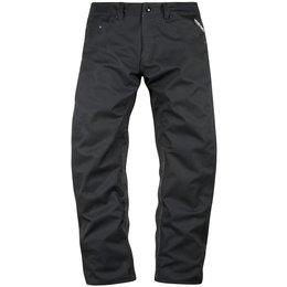 Icon Mens Raiden UX Waterproof Textile Over Pants Black