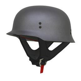 AFX FX88 Solid Half Helmet Grey