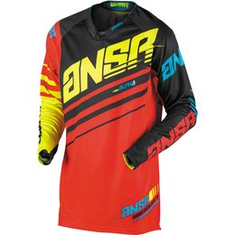 Answer Racing Mens Alpha Off-Road Motorcycle Jersey Black