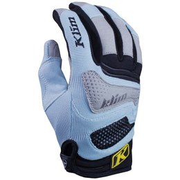 Klim Womens Savanna MX Offroad Breathable Textile Gloves Blue