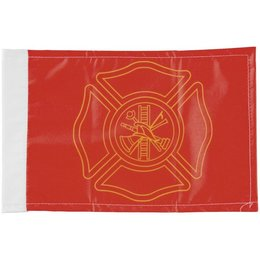 Pro Pad 6 X 9 Highway Safe Flag Poly Cotton Firefighter Orange
