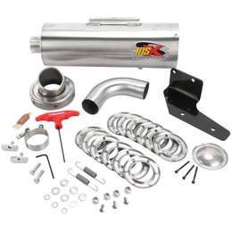 Supertrapp IDSX Exhaust System Stainless Steel For Polaris Sportsman XP 550 2009