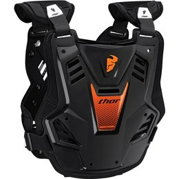 Thor Youth Boys Sentinel GP Chest/Back Roost Guard Protector Black