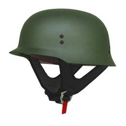 AFX FX88 Solid Half Helmet Green