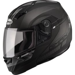 GMAX 04 -04 Graphic Modular Helmet Black