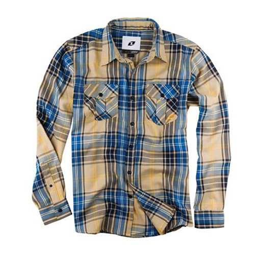 One industries bixby long sleeve flannel shirt 141799 for Types of flannel shirts