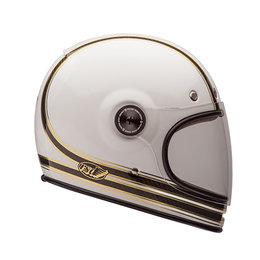 Bell Powersports Bullitt Carbon RSD Mojo Full Face Helmet White