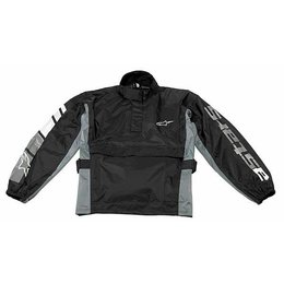 Black, Gray Alpinestars Rj-5 Waterproof Rain Jacket