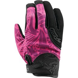 Speed & Strength Unisex United By Speed Mesh/Textile Riding Glove Pink