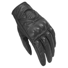 Black Fieldsheer Vanity Leather Gloves