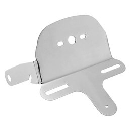 Bikers Choice License/Taillight Bracket Chrome For Harley FXDWG